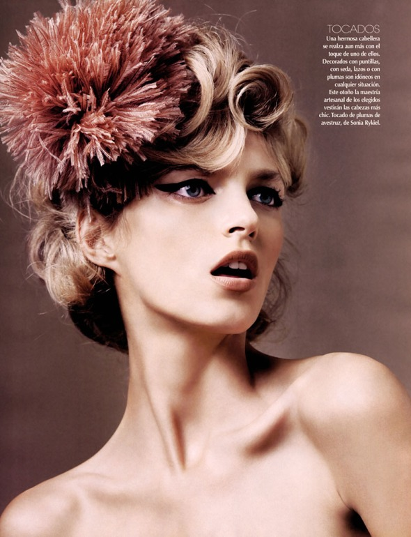 Anja rubiks latest vogue cover is very 80s but in the best possible way forum buzz